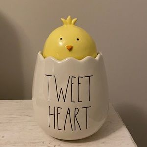 Tweet Heart Rae Dunn Canister